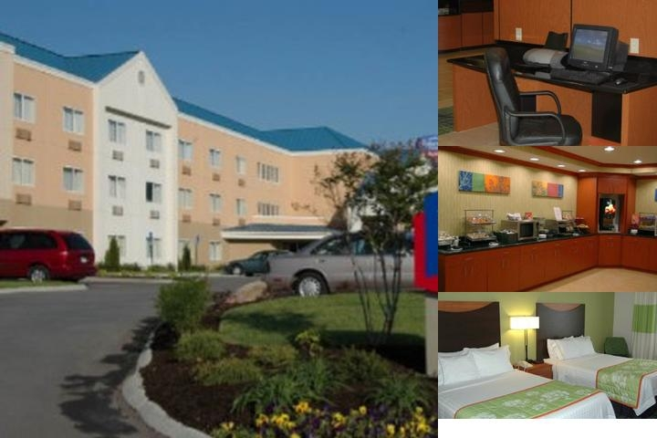Fairfield Inn & Suites Knoxville East photo collage