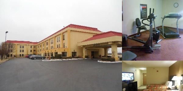 Pine Bluff Inn & Suites photo collage