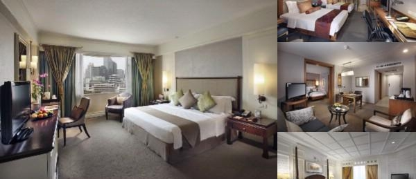 The Dusit Thani photo collage
