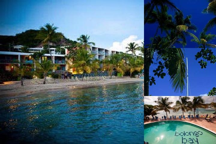 Bolongo Bay Beach Resort photo collage