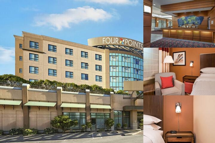 Four Points Sheraton Vancouver Airport Hotel Photo Collage