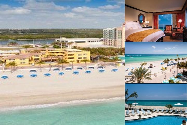 Hollywood Beach Marriott & Spa photo collage