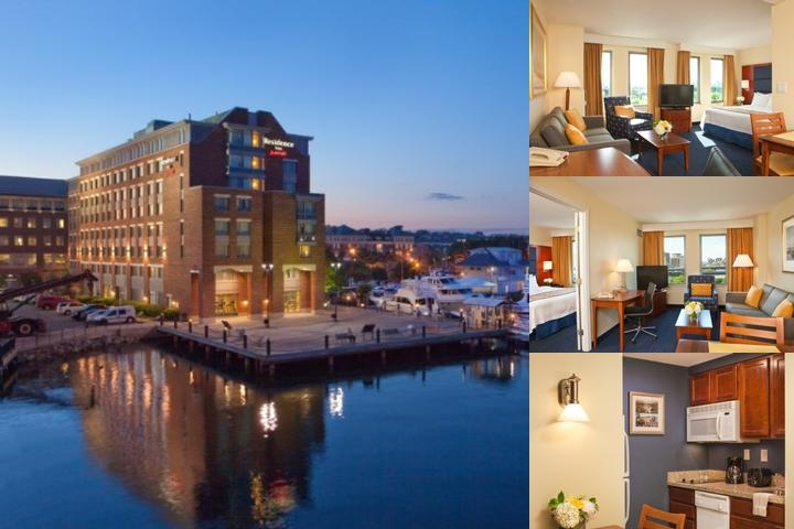 Residence Inn Boston Harbor on Tudor Wharf photo collage