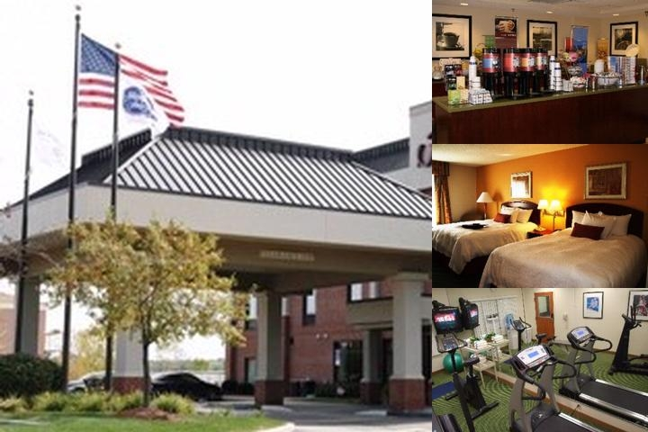 Hampton Inn Akron South photo collage