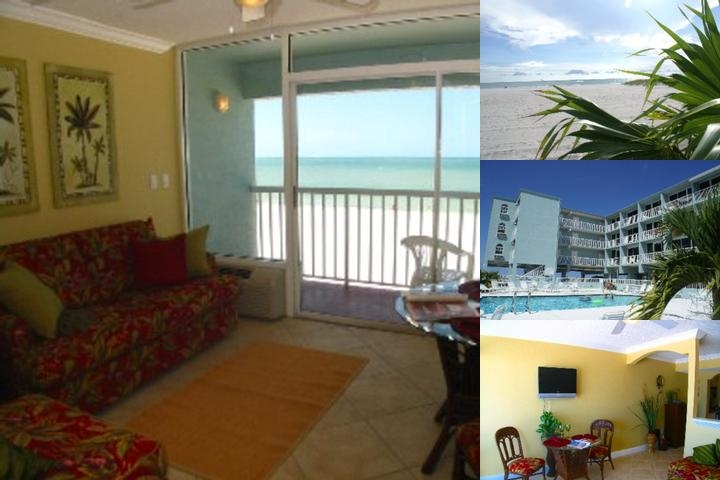 Barefoot Beach Hotel Madeira Beach photo collage