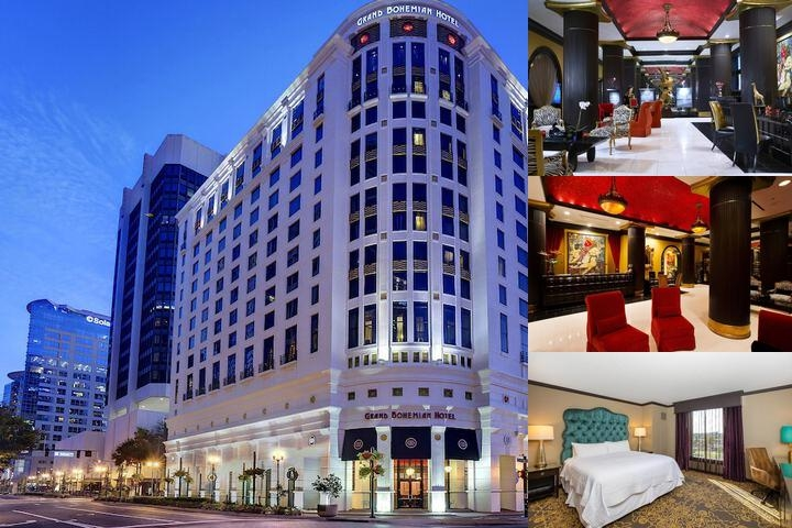 Grand Bohemian Hotel photo collage