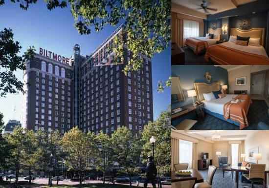 Providence Biltmore Curio Collection by Hilton photo collage
