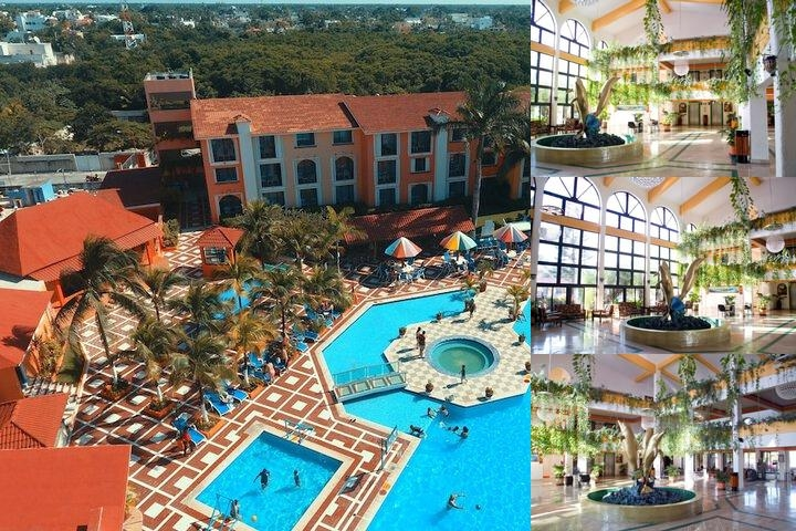 Hotel Cozumel & Resort All Inclusive photo collage