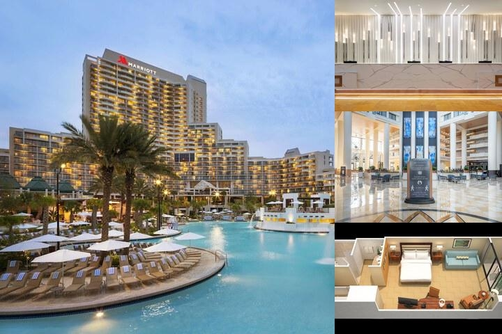 Orlando World Center Marriott Photo Collage