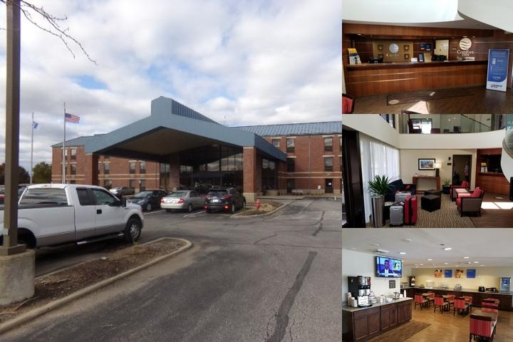 Comfort Inn Cleveland Airport photo collage