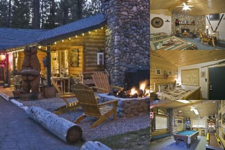 Fireside Lodge photo collage