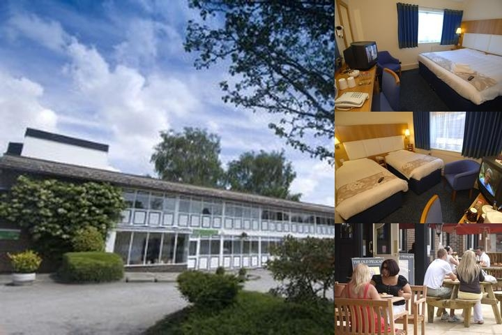 The Altrincham Lodge Hotel photo collage