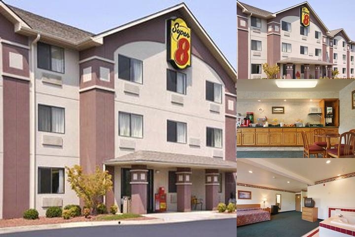 Super 8 Motel Lynchburg photo collage