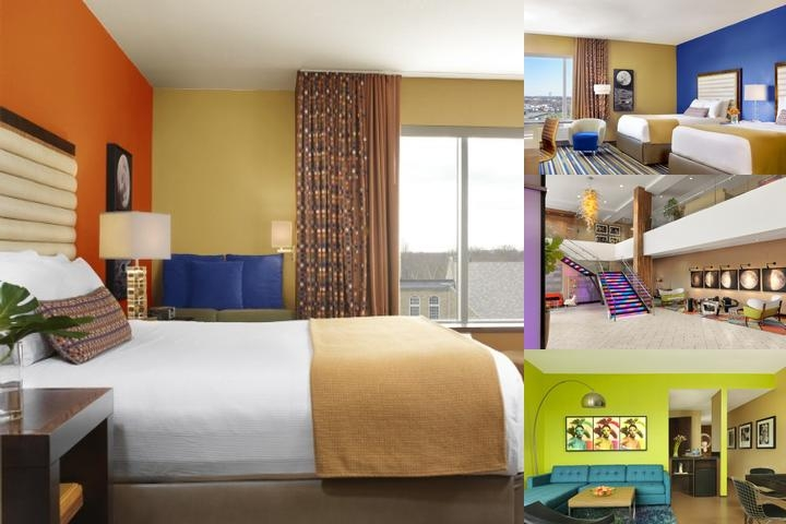 Moonrise Hotel photo collage