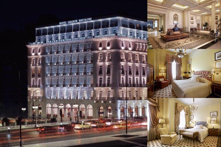Hotel Grande Bretagne a Luxury Collection Hotel Athens photo collage