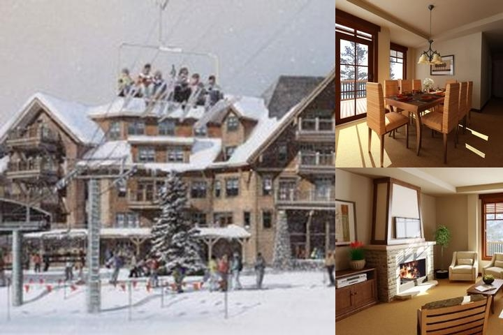 Crystal Peak Lodge photo collage