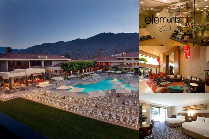 Hilton Palm Springs photo collage