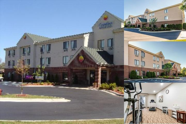 Comfort Inn & Suites University of Michigan photo collage