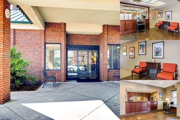 Comfort Inn Blacksburg photo collage
