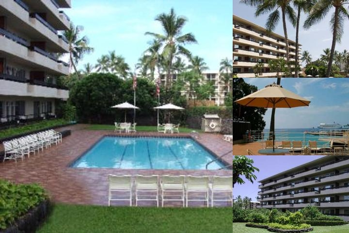 Kona Seaside Hotel photo collage