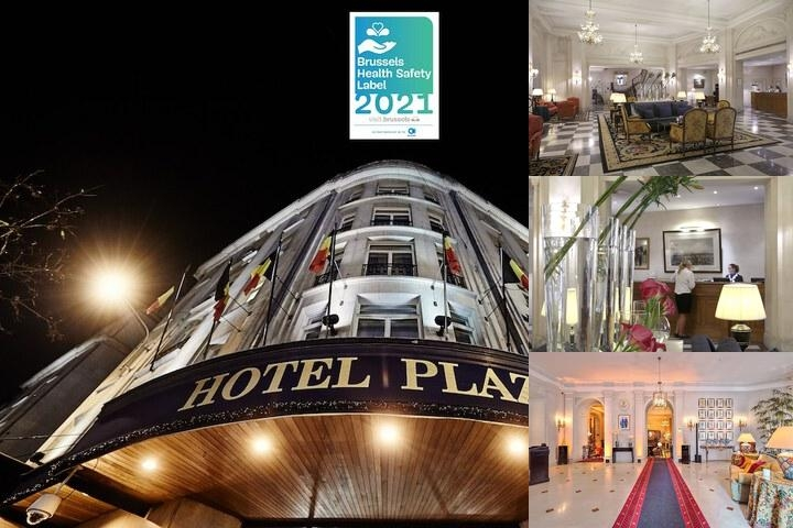 Hotel Le Plaza Brussels photo collage