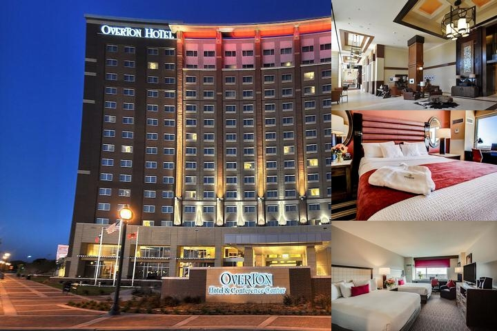 Overton Hotel and Conference Center photo collage
