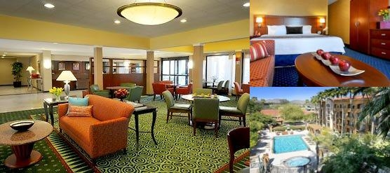 Phoenix Camelback Courtyard by Marriott photo collage