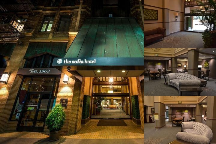 The Sofia Hotel photo collage