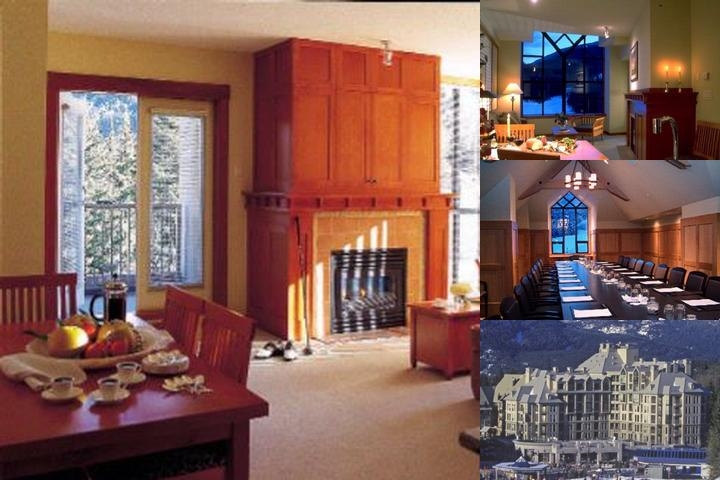 Pan Pacific Whistler Mountainside photo collage