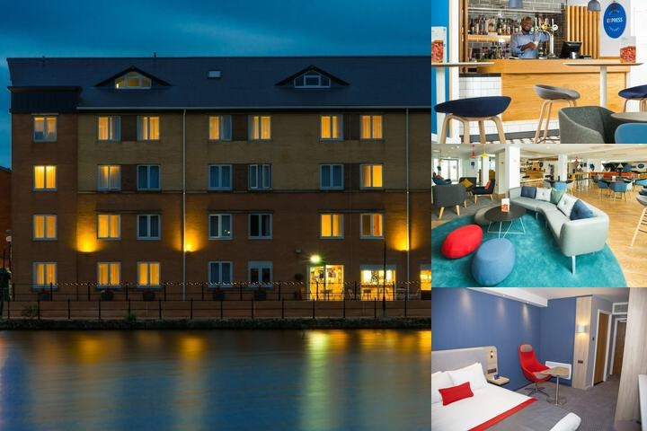 Holiday Inn Express Cardiff Bay photo collage
