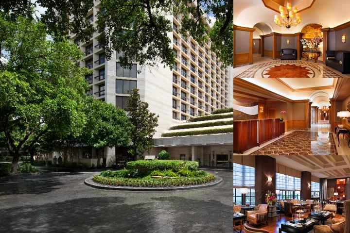 The St. Regis Hotel Houston photo collage
