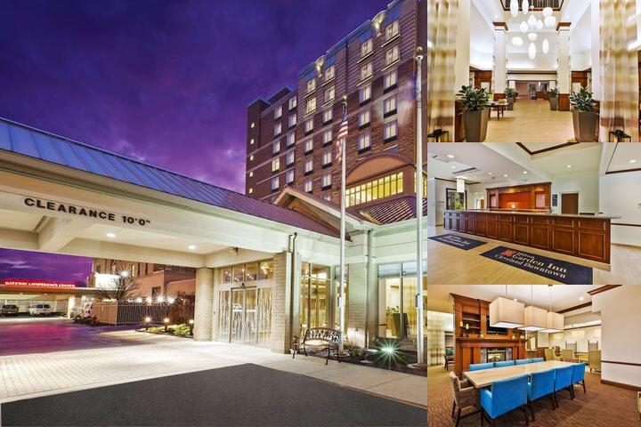 Hilton Garden Inn Cleveland Downtown photo collage