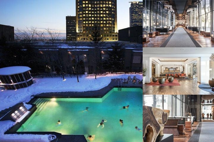 Hilton Montreal Bonaventure photo collage