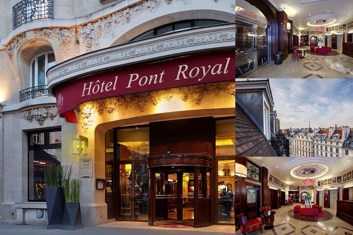 Hotel Pont Royal photo collage