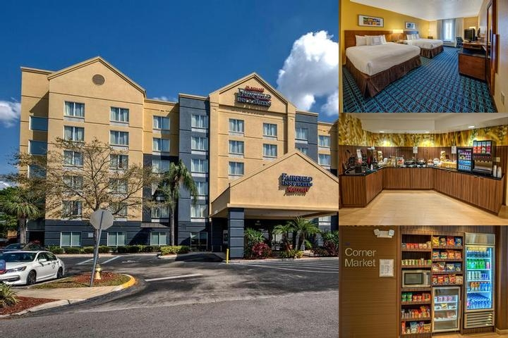 Fairfield Inn & Suites by Marriott Near Universal photo collage