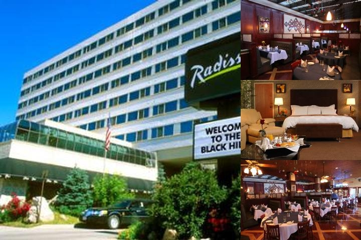 Radisson Hotel Rapid City Mt. Rushmore photo collage
