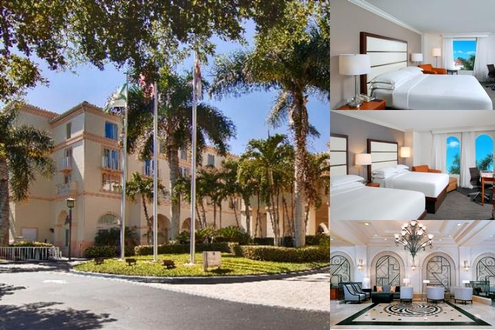 Hilton Naples photo collage