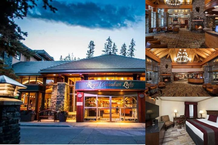 Delta Banff Royal Canadian Lodge photo collage