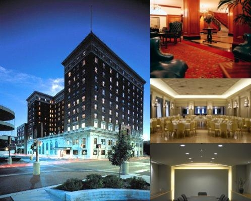 Hotel Fort Des Moines photo collage