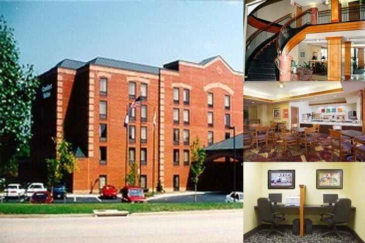 Comfort Suites Richmond West photo collage