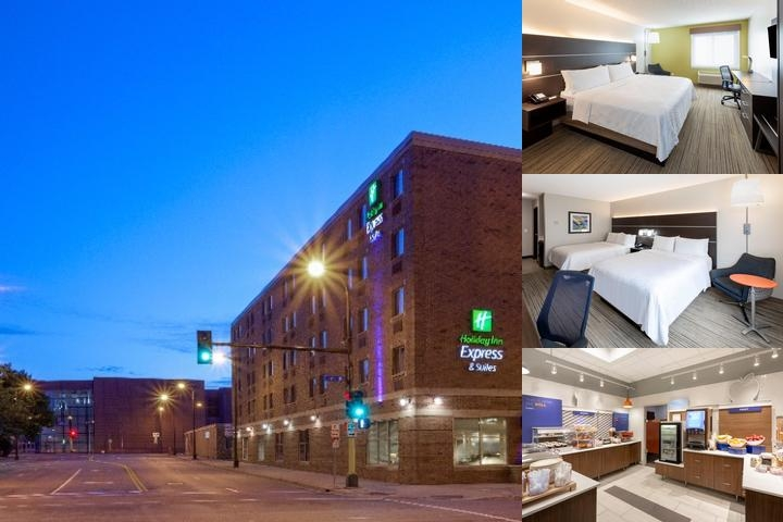 Holiday Inn Express & Suites Downtown Minneapolis photo collage