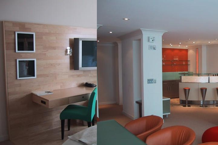 Le Meridien Hotel photo collage