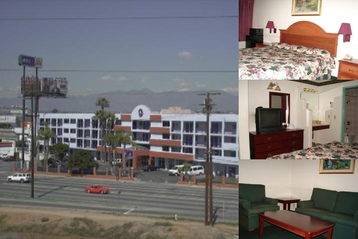 Budget Inn & Suites photo collage