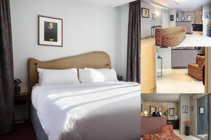 Hotel Belloy Saint Germain photo collage