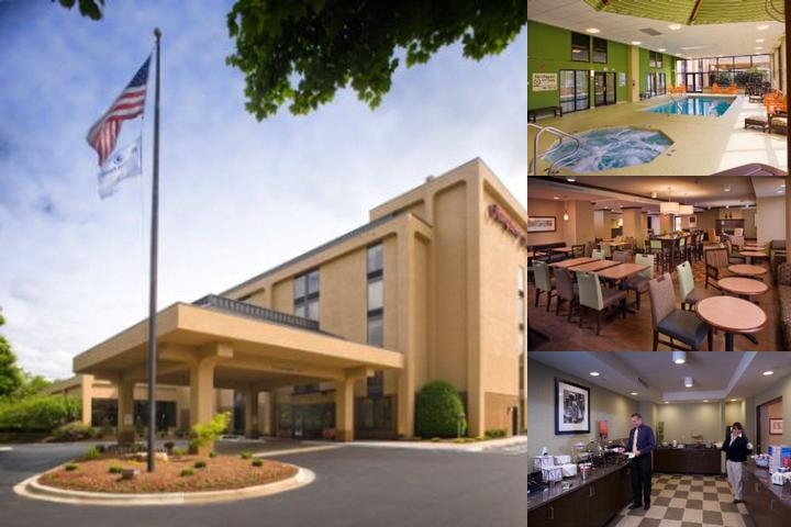Hampton Inn Biltmore Square photo collage