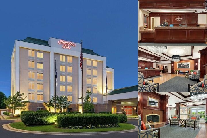 Hampton Inn Dulles Cascades photo collage