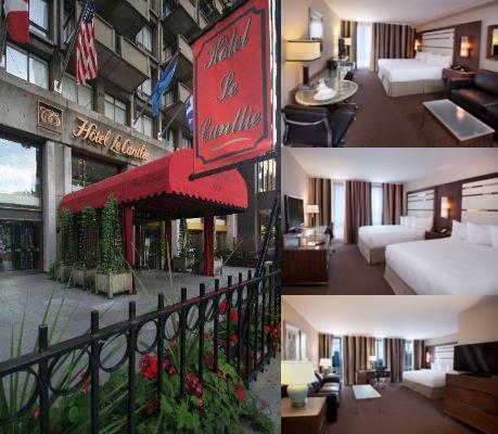 Hotel Cantlie Suites Montreal photo collage
