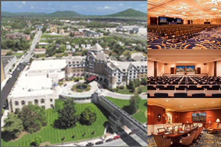The Hotel Roanoke photo collage