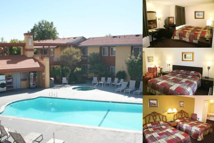 Motel 6 Cal Expo photo collage