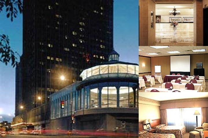 Crowne Plaza St. Paul Riverfront photo collage